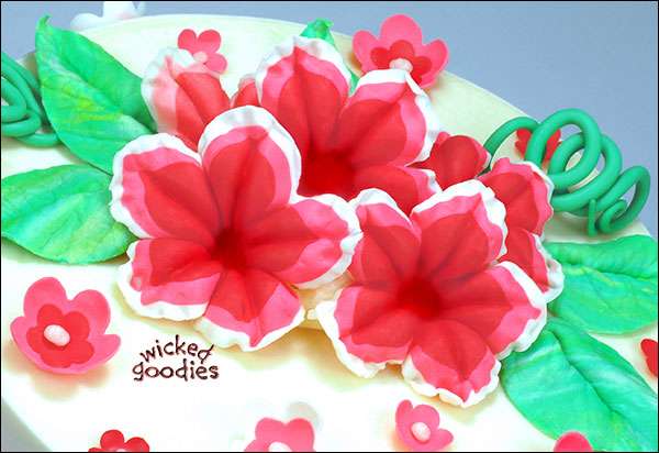 Edible Cake Flower Making Tools