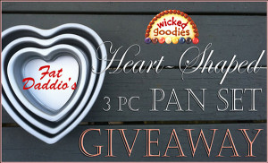 Heart Shaped Pan Giveaway