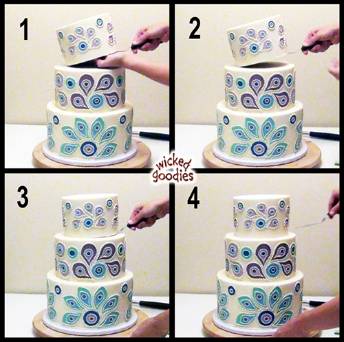 How to Assemble a Stacked Cake