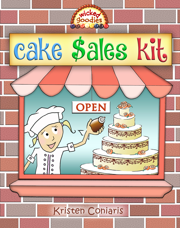 Cake Bakery Sales Kit