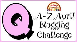 Q Baking and Culinary Terms Alphabet Blogging Challenge