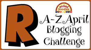 R Baking and Culinary Terms Alphabet Blogging Challenge