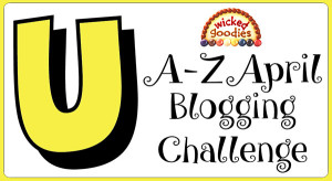 U Baking and Culinary Terms Alphabet Blogging Challenge
