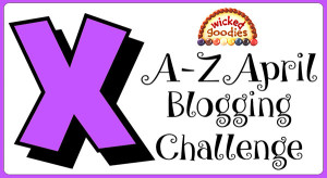 X Baking and Culinary Terms Alphabet Blogging Challenge