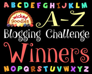 A-Z Blogging Challenge Winners