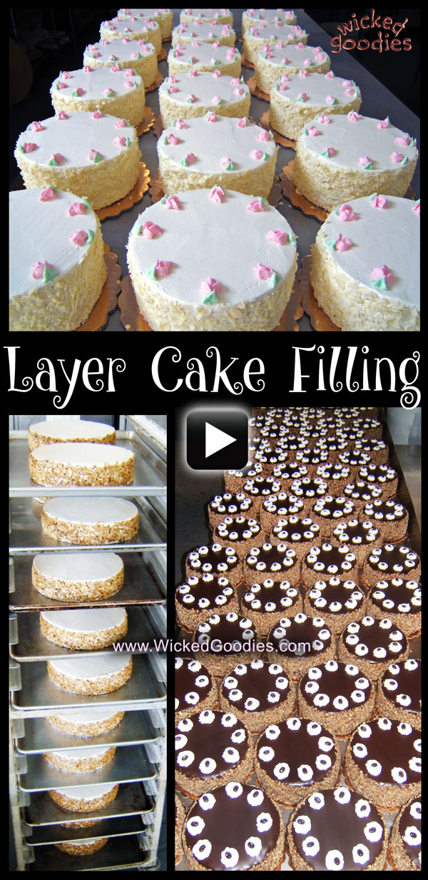 Part 1 Cake Filling Method - Freezing Cakes