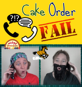 Cake Business Order Fail