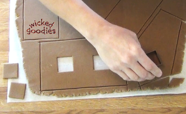 Gingerbread House Windows How To