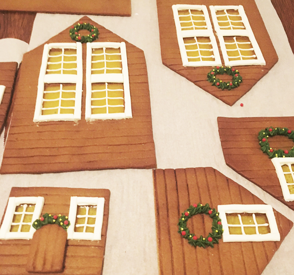 Gingerbread House Candy Windows by Kellie Murray