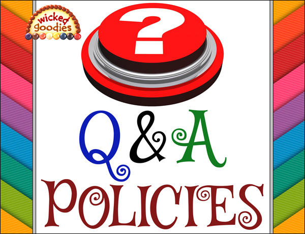 Question and Answer Policies