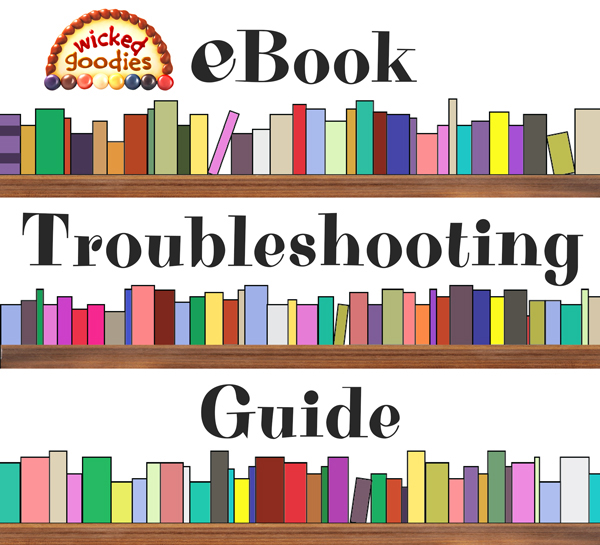 eBook Troubleshooting Guide