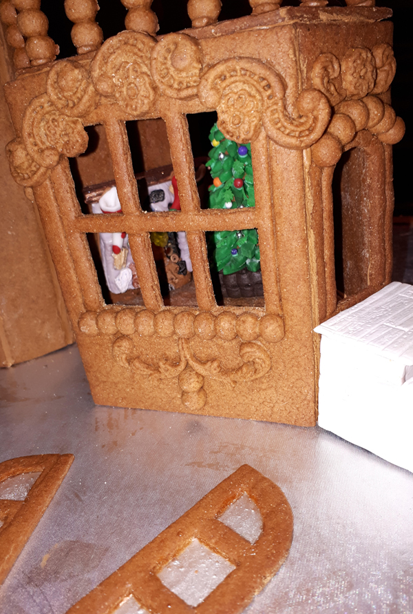 Gingerbread Mouse Castle by Debra Wolford