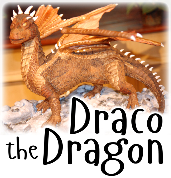 Draco Dragon Gingerbread Cookie Sculpture