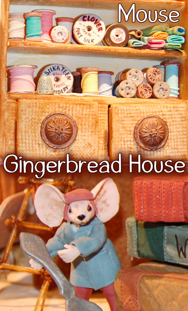 Giant Mouse Gingerbread House