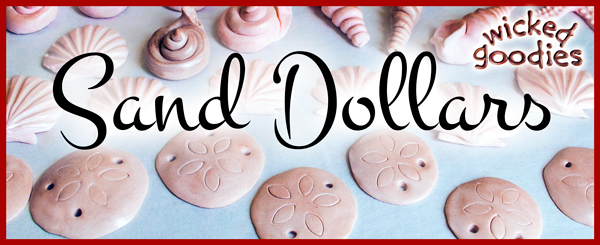 Modeling Chocolate Sand Dollars