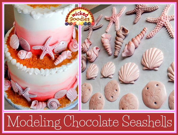 Modeling Chocolate Seashells Tutorial