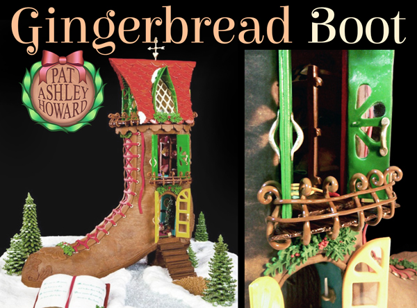 Gingerbread Boot House