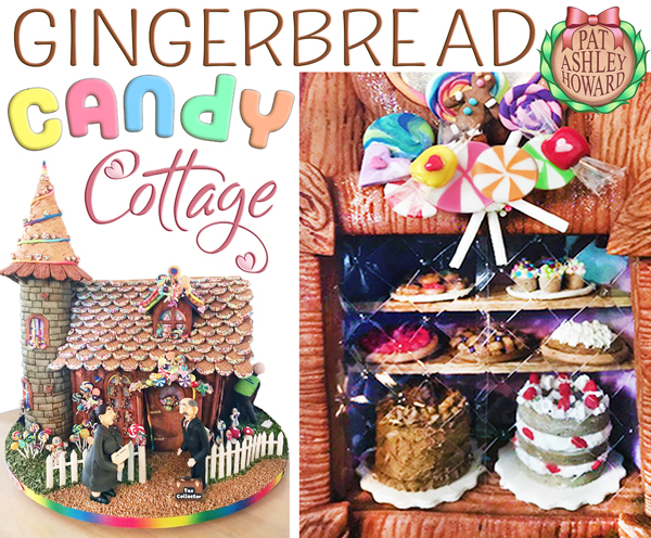 Gingerbread Candy Cottage