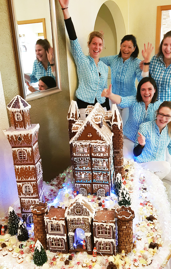 Giant Gingerbread House Castle