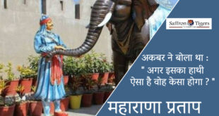 Maharana Partap and his elephant