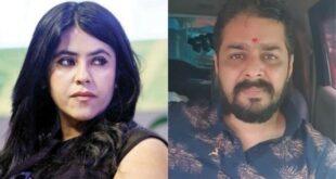 Ekta kapoor and Hindustani bhau