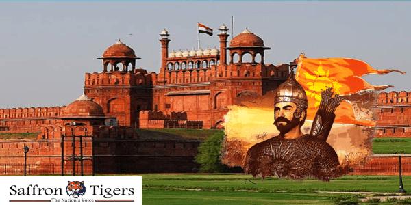 hindu-king-built-delhi-red-fort