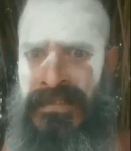 साधु ने क्रिस्चन दरोगा के कारन आत्महत्या कहा पहनावे की वजह से जलील करता था