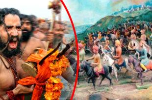 Fighter Naga sadhu
