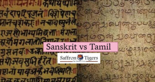 Sanskrit vs Tamil