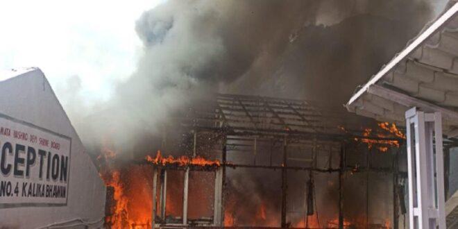 माता वैष्णो देवी भवन के पास कैश काउंटर पर लगी आग