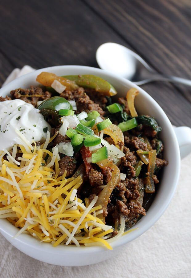 keto five-alarm chilli