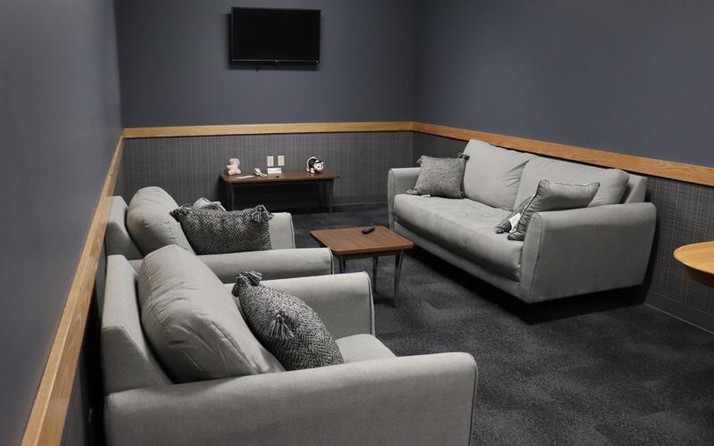 Living Quarters TV Room