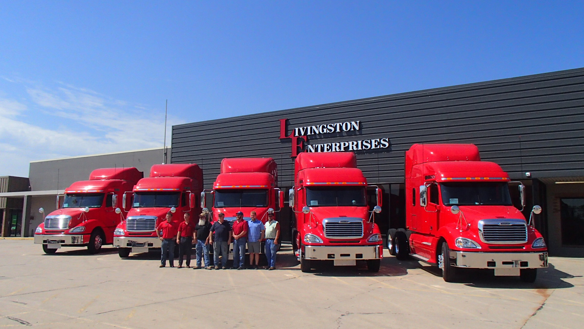 Livingston Enterprises Transport, Inc. Freightliner Lineup