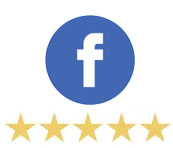 5 stars from Facebook
