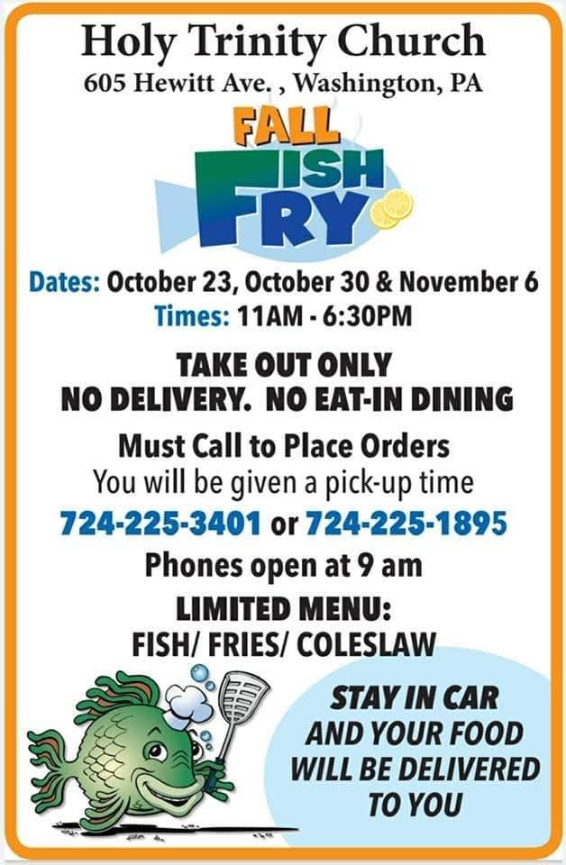 Holy Trinity Fish Fry
