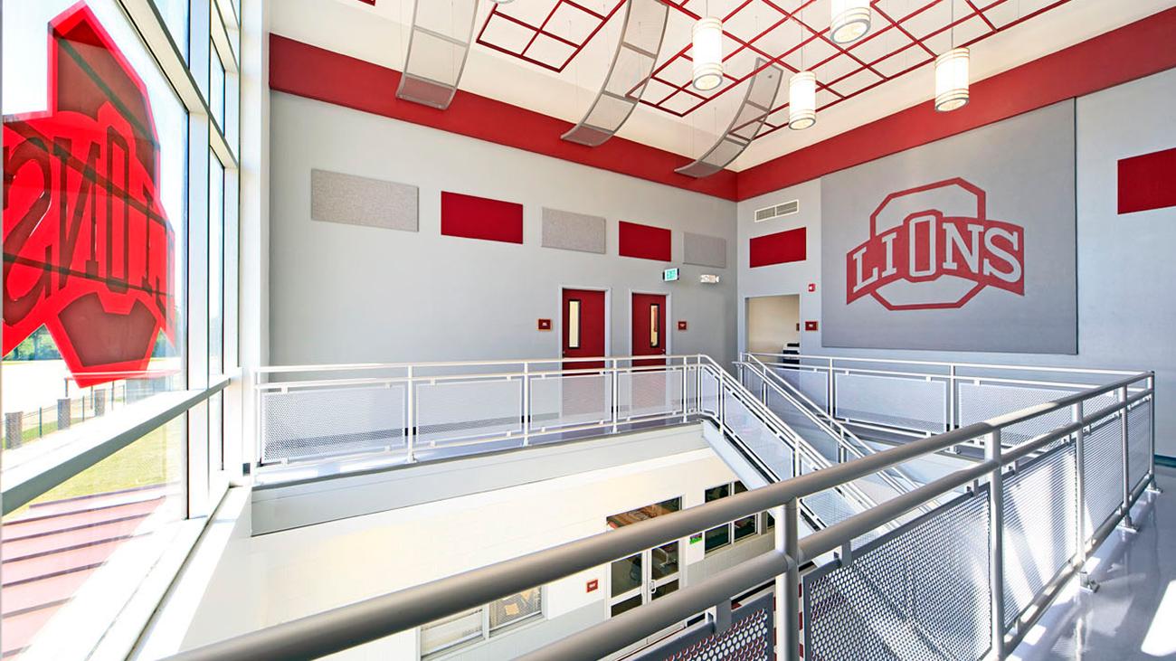 Ouachita High School Field House – Inside