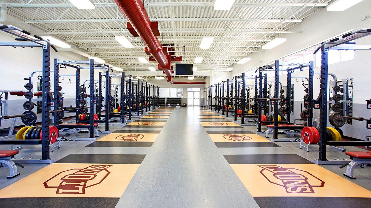 Ouachita High School Field House – Weight Room