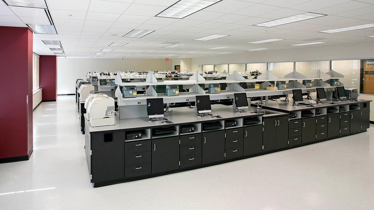 ULM Bienville Pharmacy Research Building