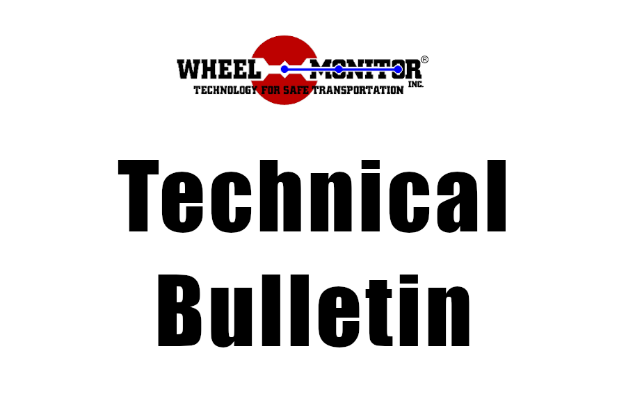 All Product Lines Tech Bulletin