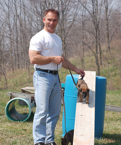 Agility For Protection Dogs