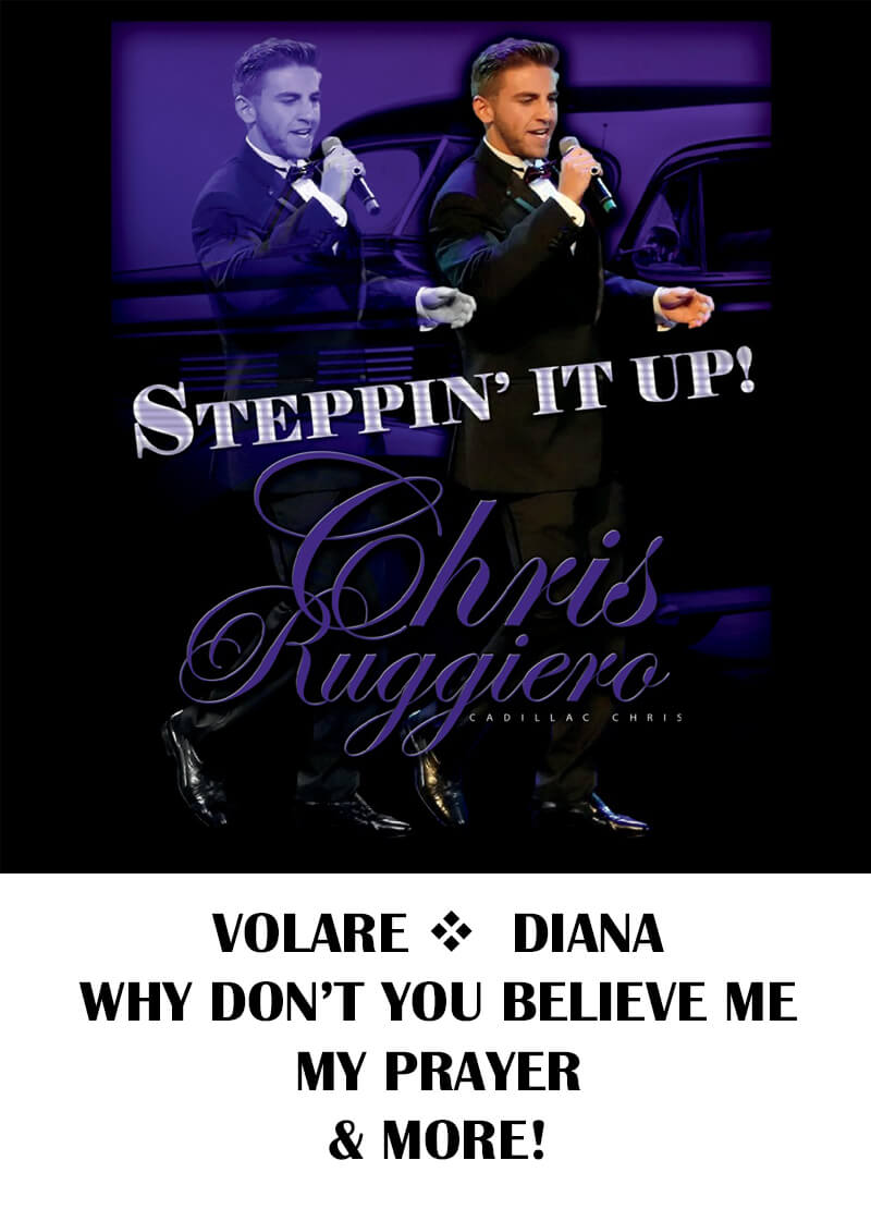 Chris Ruggiero Steppin' It Up CD Cover