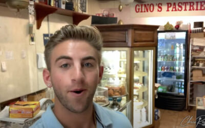 Chris Ruggiero's Road Trip to Gino's Pastry Shop in the Bronx