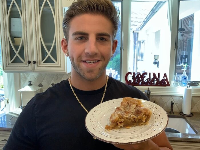 In The Kitchen with Chris Ruggiero Donut Pie