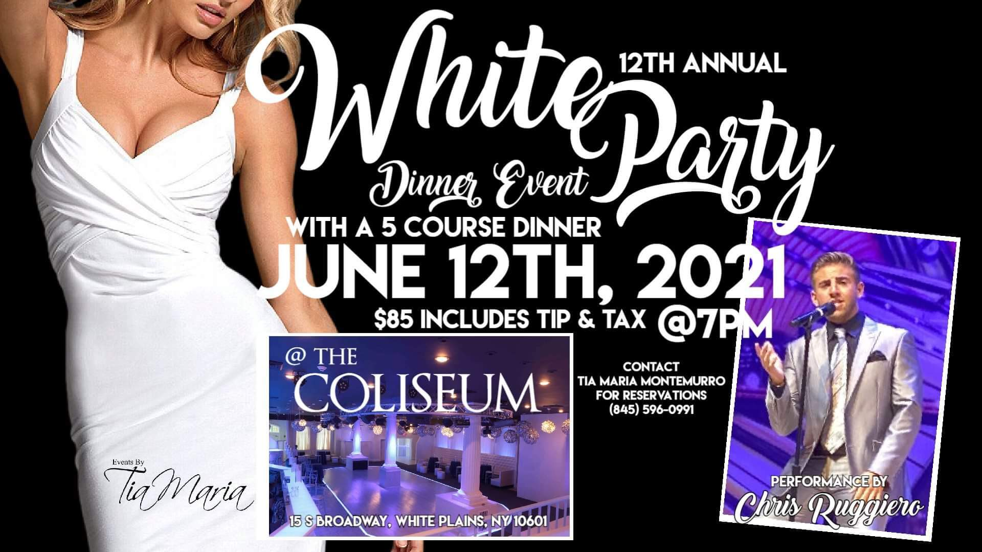 2021-06-12 Chris Ruggiero at the Coliseum White Party