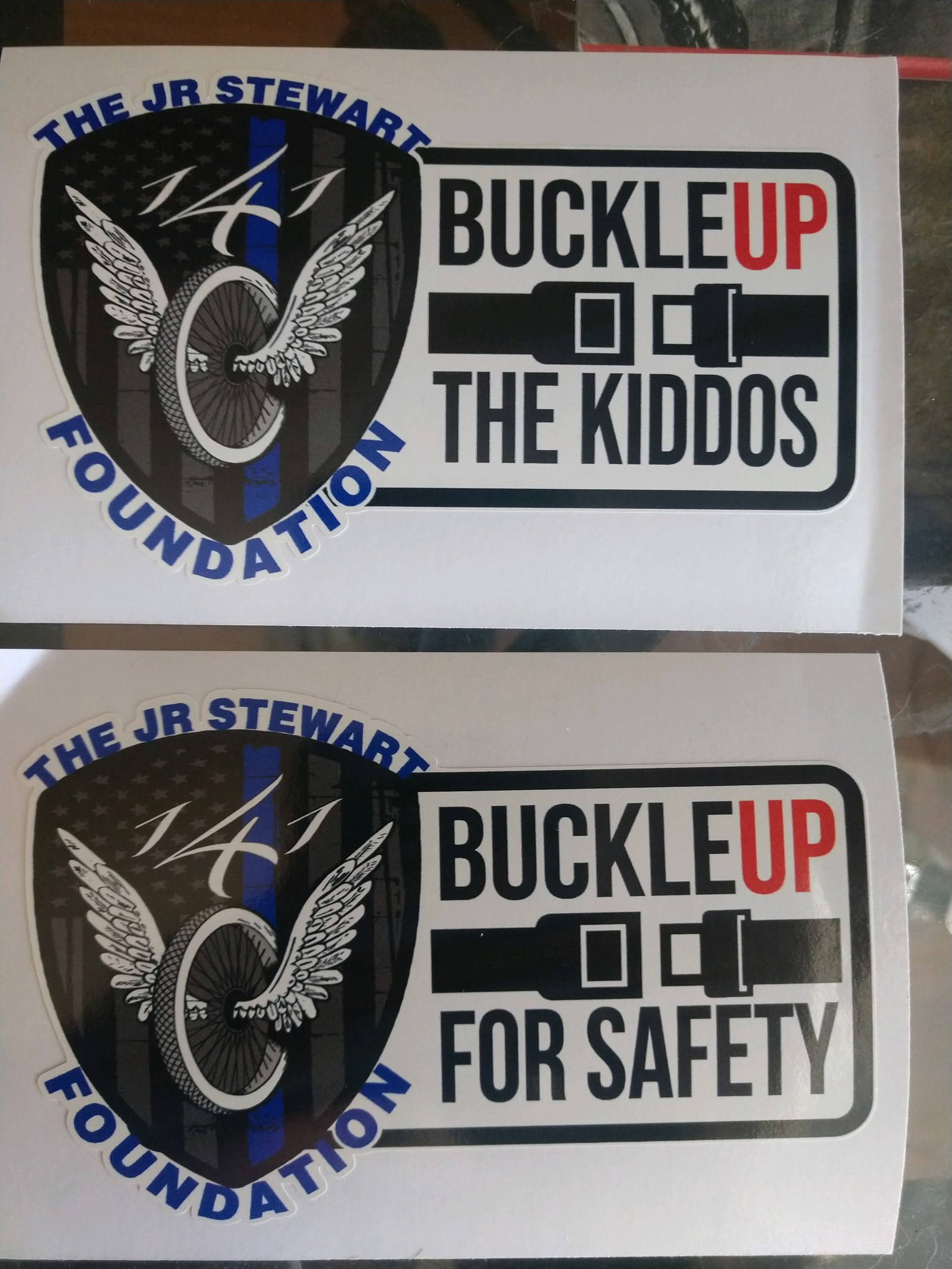 "We Are Pleased To Announce Our ""Buckle Up"" Campaign"