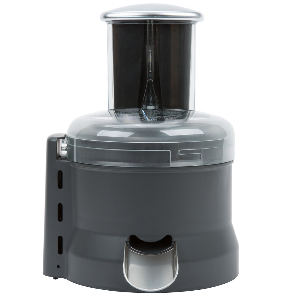 Black electric juicer