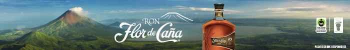 Banner ad for Flor de Caña Rum