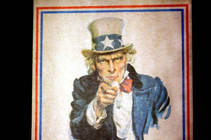 Uncle Sam I Want You for the U.S. Army Recruitment Poster