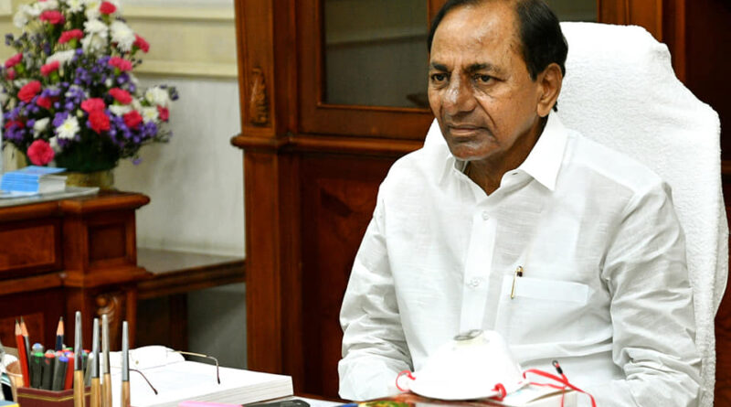 Cheating farmers with agriculture bill- KCR