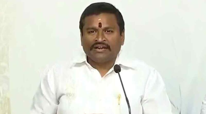 Minister Vellampalli is not eligible to be in the AP